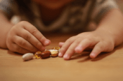 Toddler Hands With Pills